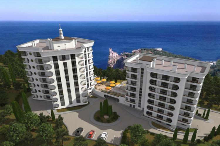 Жилой комплекс «Ласточкино» в Гаспре
