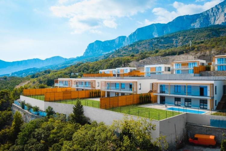 Виллы в новом закрытом охраняемом комплексе Yalta Park Hills